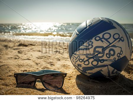 Sunglasses, And Volleyball