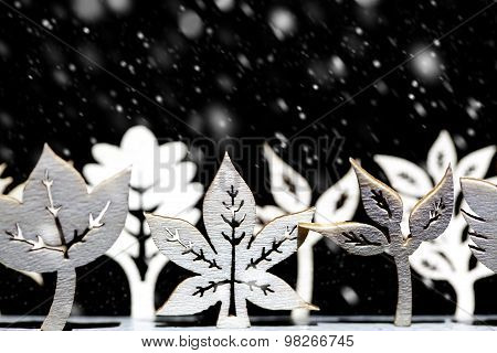 Fantasy Winter Snow Scene