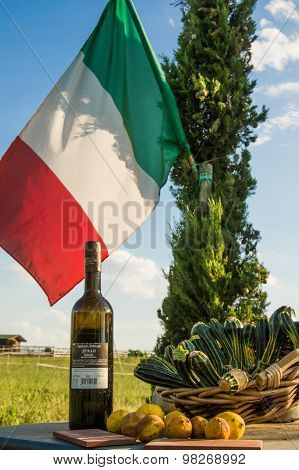 Direct Sell In Agriturism In Tuscany