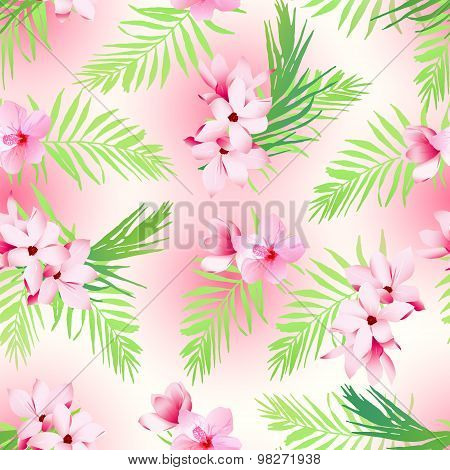 Hawaiian Exotic Seamless Vector Print