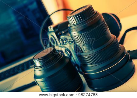 Photographer Equipment