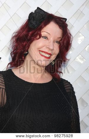 LOS ANGELES - AUG 8:  Pamela Des Barres at the 17th Annual HollyRod Designcare Gala at the The Lot on August 8, 2015 in West Hollywood, CA