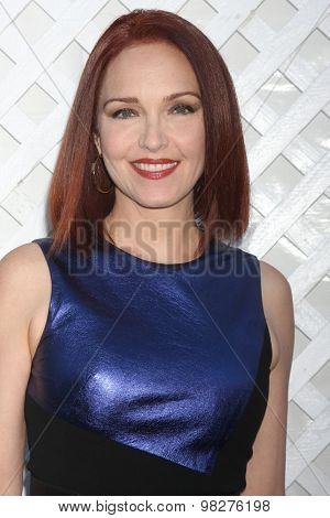 LOS ANGELES - AUG 8:  Amy Yasbeck at the 17th Annual HollyRod Designcare Gala at the The Lot on August 8, 2015 in West Hollywood, CA