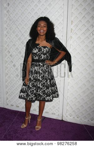 LOS ANGELES - AUG 8:  Yara Shahidi at the 17th Annual HollyRod Designcare Gala at the The Lot on August 8, 2015 in West Hollywood, CA