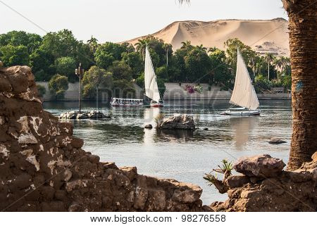 Felluca's On Nile
