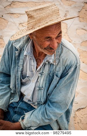 Grandpa Portrait. Tunisia