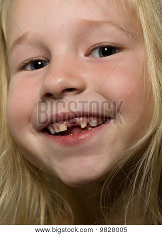 Funny Toothless Smile
