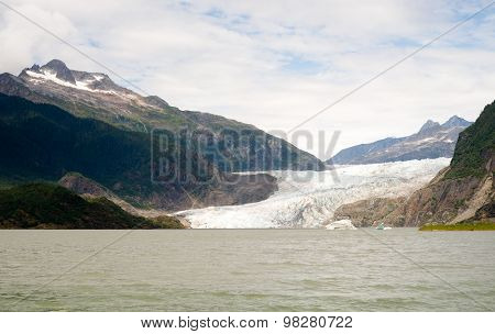 Mendenhall Glacier Recreation Area Tongass National Forest Alaska[