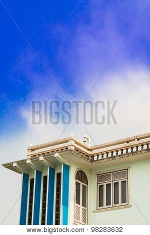 Roof And Terrace.