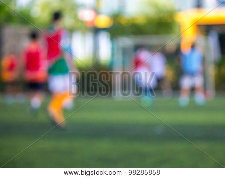 Soccer game.