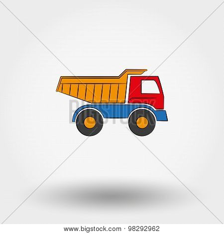 Truck toy.