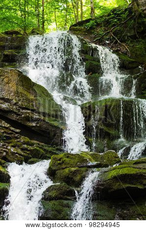 Shypit Carpathian Waterfall