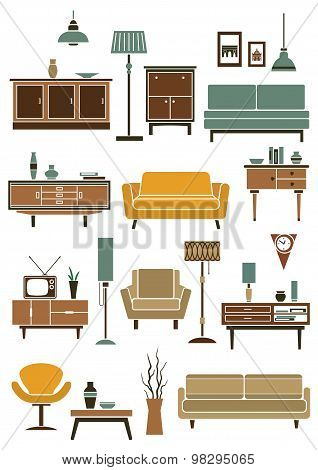 Home interior accessories and furniture