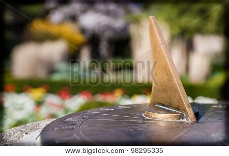 Sundial in the Rookery
