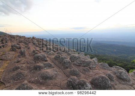 stone button cliff