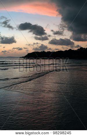 Dusk at Serendipity Beach, Sihanoukville