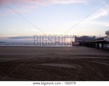Weston Super Mare At Sunrise