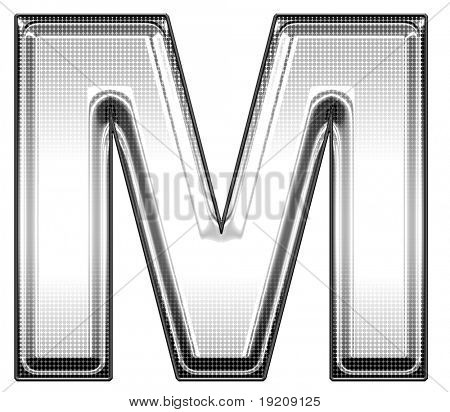 upper case m