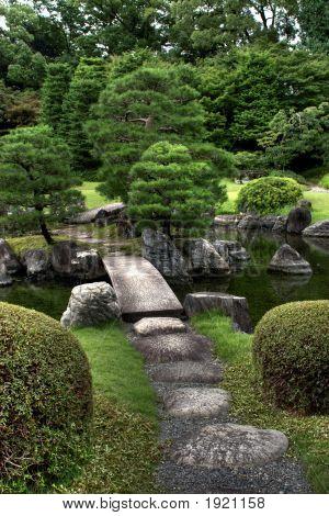 Japanese Garden Portrait