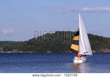 Sailing On Saratoga Lake