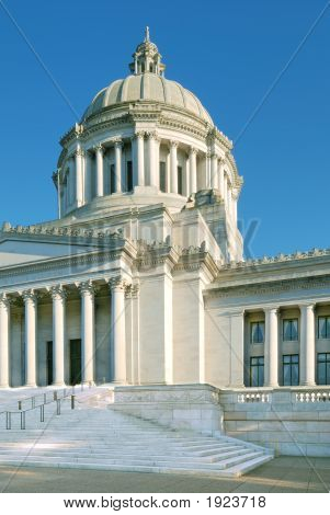 Washington State'S Legislative Building Capitol Dome