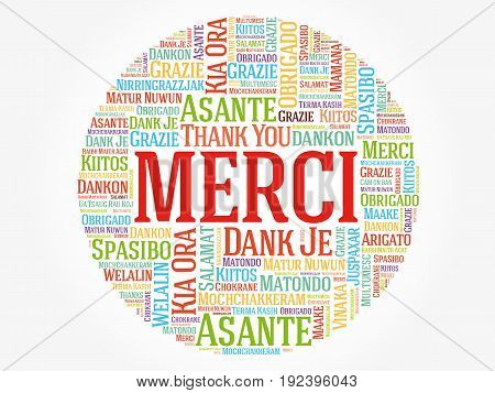 Merci (thank You In French)