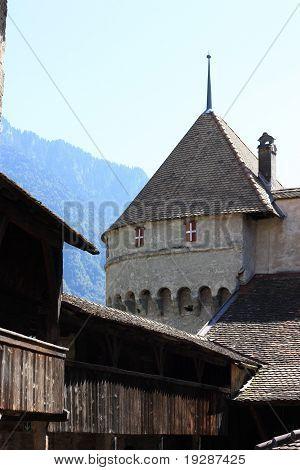 Inside Chateau De Chillon