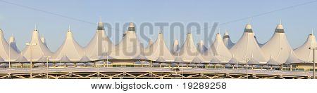 47 Megapixel Panoramic of Denver International Airport