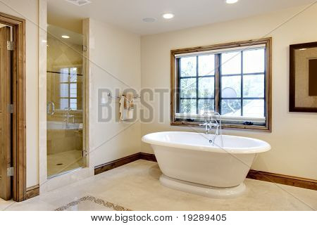 Large Bathroom with Tub
