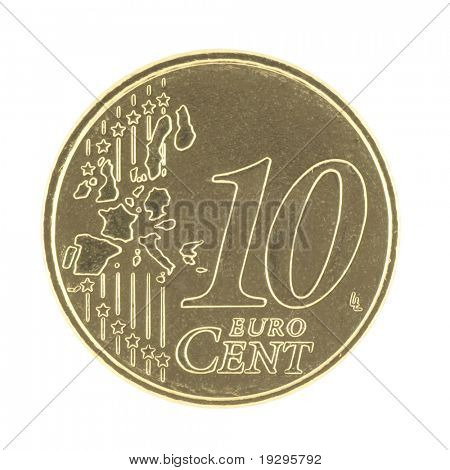 Uncirculated 10 eurocent