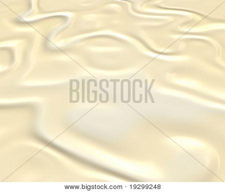 beautiful creamy white melting chocolate background image