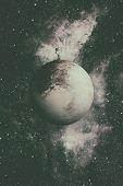 Solar System - Planet Pluto. poster