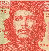 CUBA - CIRCA 2004: Ernesto Che Guevara on 3 Pesos 2004 Banknote from Cuba. An inspiration for every