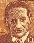 COLOMBIA - CIRCA 2006: Jorge Eliecer Gaitan (1903-1948) on 1000 Pesos 2006 Banknote from Colombia. P