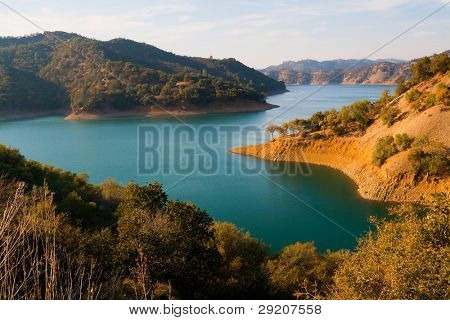 Lake Berryessa in Northern California