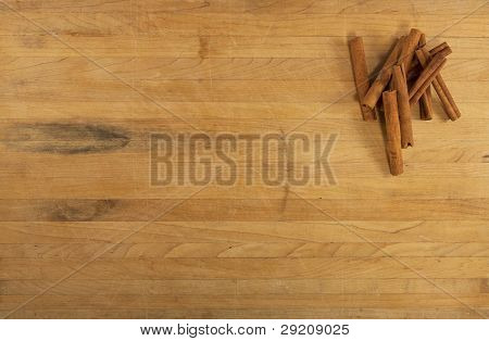 Cinnamon On Countertop