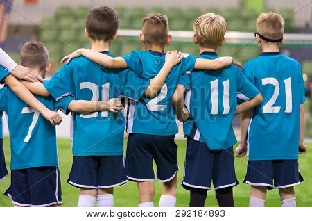 Young Football Players Young Soccer