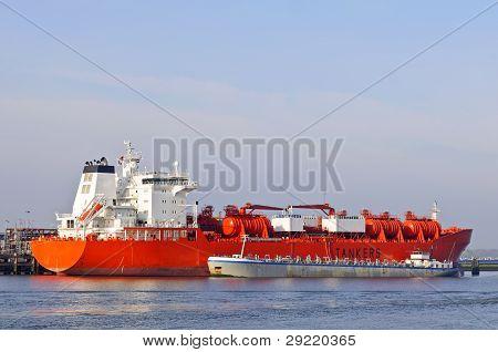 oil tanker in