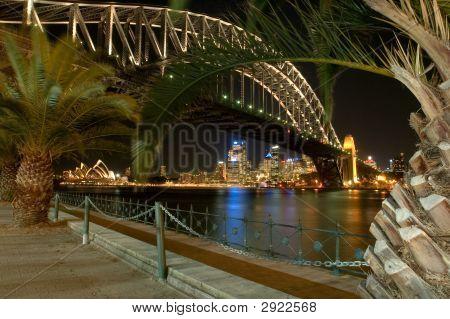Night Sydney Landmarks