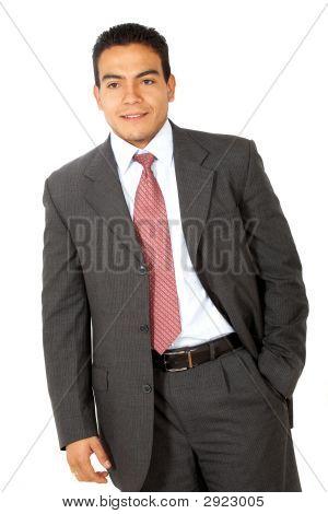 Business Man Smiling