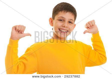 Happy Handsome Haughty Boy