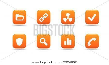 Web Icon Set 2 | Apricot Series