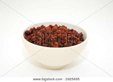 Sultanas In A Bowl