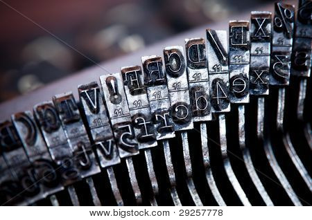 Old Typewriter Letter