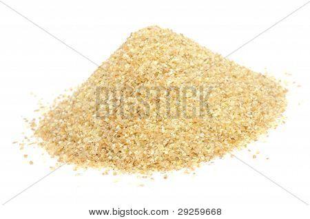 Pile Of Wheat Groats (Bulgur)