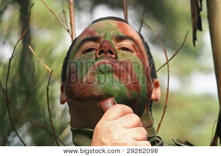 face camouflage