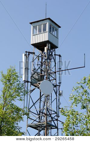 Watchtower With Antennas