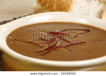 Fechar-se a sopa de rabo de boi
