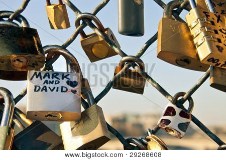 Padlock Symbol Of Eternal Love