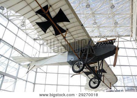 German World War One airplane